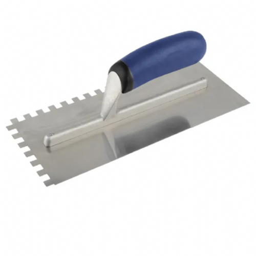 Vitrex 102971 Professional Stainless Steel 8mm Notched Adhesive Trowel 11 x 4½""
